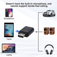 Wireless Bluetooth 5.0 USB Audio Transmitter Receiver 2-in-1 Stereo USB Adapter For TV PC Phone Head