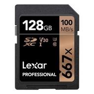 【新博攝影】Lexar 雷克沙 Professional 667x 128GB SDXC UHS-I/U3 Card (寫入速度90MB/s (台灣公司貨)終身保固