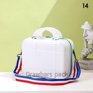 B15 กระเป๋าเครื่องสำอาง14นิ้ว กระเป๋าแบบถือ Cosmetic case กระเป๋าผู้หญิง กระเป๋าสะพายข้างผู้หญิง กระเป๋าใส่เครื่องสำอาง กระเป๋าเดินทางขนาดเล็ก Women Bags Handbag Shoulder Bags Bags and Travel
