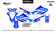 DECAL WR 155 FULL BODY BIRU