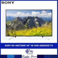 "SONY KD-49X7500F 49"" 4K UHD ANDROID TV"