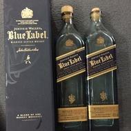 二手Johnnie Walker Blue Label 約翰走路藍牌空酒瓶