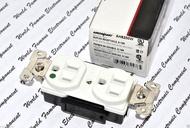 美國 COOPER AH8200W 15A 125V NEMA 5-15 DUPLEX型 白色 醫療級鍍鉻插座
