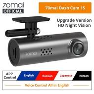 Xiaomi 70mai Smart Dash Cam 1S 1080P Superior Night Vision 70 MAI 1S Car Recorder Wifi Car DVR Video Dashboad English Voice Control