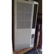 (二手 中古冷氣專賣網) 聲寶直立式窗型冷氣機110V 售5800+架子500  歡迎現場試機 配送須知  物件會送到指