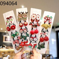 Head rope Tali kepala Christmas Day Children's Hair Accessories Baby Rubber Band Small Circle Head Rope Girls Hair Tie T