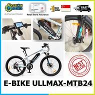 ULLMAX MTB24 ebike MTB 24 LTA Approved e-bike PAB Electric Bicycle
