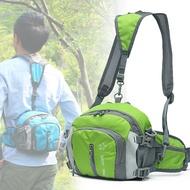 大容量雙肩戶外腰包多功能運動旅行背包男女登山騎行水壺腰包防水