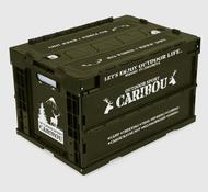 日本代購 空運 Colle Con 搖曳露營 折疊式 收納箱 50L 工具箱 貨物箱 置物箱 馴鹿 CARIBOU