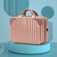 TPO431 14นิ้วเครื่องสำอางแบบพกพากระเป๋าเดินทางขนาดเล็ก Mini กระเป๋าเดินทางน่ารักผู้หญิงแต่งหน้าใหม่กระเป๋าเก็บของ