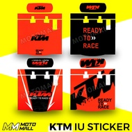 KTM Motorcycle IU Sticker / IU Decal