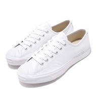 【CONVERSE】休閒鞋 Jack Purcell 低筒 男女鞋 基本款 小白鞋 情侶 穿搭 開口笑 白(164225C)