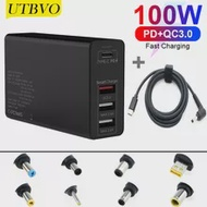 Laptop Charger Power-Adapter 100W Supply Notebook Universal ASUS UTBVO Ce for HP Dell