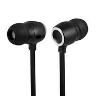 TCSTAR 有線入耳式耳機麥克風-黑 TCE6070BK