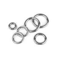 附發票(東北五金)台灣製 3*20~6*60mm 白鐵圓圈 材質:SUS304不銹鋼 型號:YS317 白鐵環 白鐵圈(3mm*20mm)