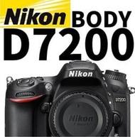 二手快門數45公司貨 Nikon D7200 單眼相機 單機身 防塵防滴 D7100 後續 70D 7D2