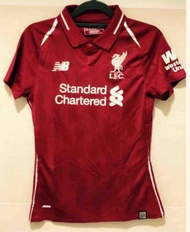 18/19 Lady Liverpool Home Football Jersey