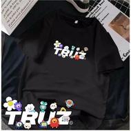 (can Pay For Place) Oversize T-shirt Korean Treasure Truz Type Writing Dtf | ( bisa bayar ditempat ) kaos oversize KPop Korean TREASURE TRUZ tipe tulisan dtf