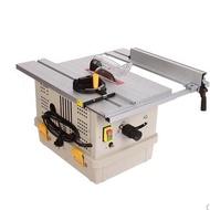 雜貨鋪#無塵鋸青島塵霸無塵鋸多功能小型推臺鋸木地板無塵電鋸木工裝修斜切割機