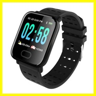 彩屏大屏幕智能手環測心率血壓oppo華為小米運動計步男防水手錶女