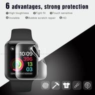 9Dฟิล์มไฮโดรเจลแบบนิ่มสำหรับIwatch 40 44มม.,ฟิล์มป้องกันหน้าจอแบบเต็มหน้าจอสำหรับApple Watch Series 4
