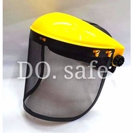 FACE SHIELD WITH SOFT MESH POLYCARBONATE PROTECT