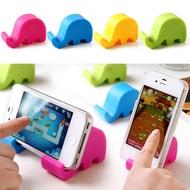 ช้างโทรศัพท์มือถือขาตั้งแผ่นยางกันลื่นสมาร์ทโฟน Bracket ติดรถยนต์ขาตั้งที่จับสำหรับ IPhone Xiaomi ซัมซุงสมาร์ทโฟนขาตั้ง (แบบสุ่ม)
