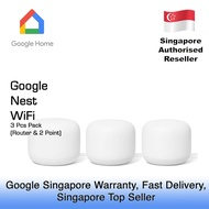 GOOGLE NEST WIFI 3 PACK / 1 YEAR GOOGLE SINGAPORE WARRANTY
