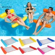 MISD Summer Foldable Inflatable Air Mattress Swimming Pool Lounger