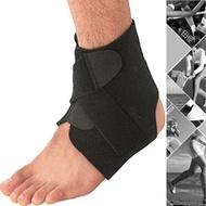 可調整魔鬼氈護腳踝.綁帶繃帶護踝束帶束套八字纏繞式固定護足踝保護套踝套可調整運動防護具雙重加壓保護套D017-B13