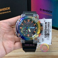 "JAPAN SET 100% ORIGINAL CASIO G-SHOCK  Frogman GWF-A1000BRT-1A ""Borneo Rainbow Toad READY STOCK"