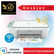 HP DeskJet Ink Advantage 2777 All-In-One Wireless (Wifi / Air Print / Phone ) Color Ink Printer - Print / Scan / Copy - Come with HP682 (Black / Tri-color) ink cartridge (Similar to HP 2776) - by DrToner