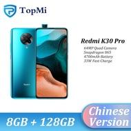 "2020 Original Xiaomi Redmi K30 Pro 5Gสมาร์ทโฟน 8GB RAM 128GB ROM Snapdragon 865 64MP Pop-กล้องBluetooth 5.1 6.67 ""หน้าจอ"
