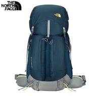[ THE NORTH FACE ] 50L 輕量專業登山背包 藍 / 公司貨 NF00CJ6UEQJ