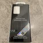 Samsung note 20 ultra protective standing cover 全新