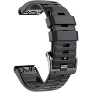 For Garmin Fenix 6X/6X Pro/Fenix 6X Sapphire Soft Silicone Strap Replacement Adjustable Wristband  for Women/Men