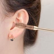 掏耳神器 挖耳勺6件套裝掏耳勺專業雙頭螺旋式耳挖扣耳扒子采耳朵工具神器