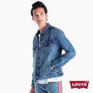 【LEVIS】男款 牛仔外套 / 背後撞色線條