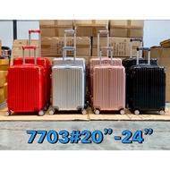 """กระเป๋าเดินทาง 20""""-24"""" x #7703B กระเป๋าเดินทาง NEW"""
