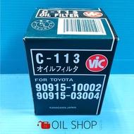 🥇油膩膩 VIC C-113 機油芯 CAMRY RAV4 PREVIA 機油濾芯 機油心