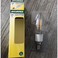 【燈后】歐美知名品牌SYLVANIA LED經典款燈絲蠟燭燈泡C35 造型燈泡 鎢絲燈泡 E14