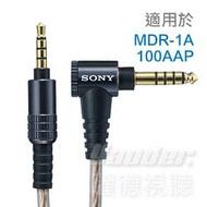 【曜德★贈品收納盒】SONY MUC-S12SB1 耳機用更換導線 適用於 MDR-1A、100AAP ★免運★