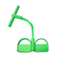 Daujai happy ยางยืดออกกำลังกาย (เขียว) อุปกรณ์ช่วยยืดกล้ามเนื้อได้ดี ออกกำลังกายได้ทุกสัดส่วน ได้มากกว่า 100 ท่า ยางยืดแรงต้าน ยางยืดฟิตเนส ยางยืดแขนโยคะ สายดึงแรงต้าน ยางยืดโยคะ สายยางแรงต้าน สายแรงต้าน สายยางยืดโยคะ ยางยืดเล่นโยคะ