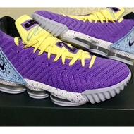 現貨正品Nike LeBron 16 Lakers 紫黃 CK4765-500