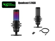 HyperX QuadCast S – RGB USB Condenser Microphone