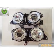 泰山美研社 Y0388 BMW E34 雙光圈魚眼大燈組