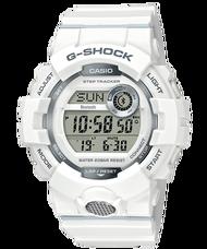 CASIO G-SHOCK GBD-800-7 BLUETOOTH®藍牙雙顯電子錶(白)