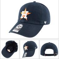 47 brand &MLB【滿99任何超商免運】太空人 彎檐鴨舌帽 韓版可調節 棒球帽子