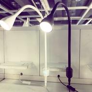 [IKEA現貨]NAVLINGE夾式聚光燈(白/黑)