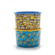 tupperware Minion One touch container 950ml (2)